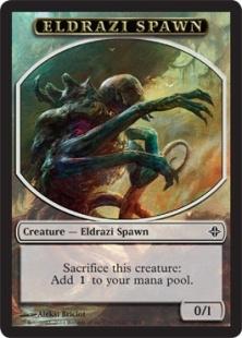 Eldrazi Spawn token (1) (0/1)