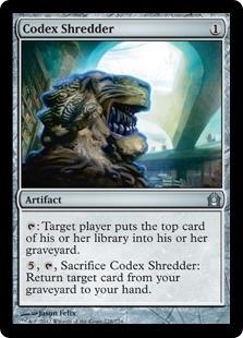 Codex Shredder