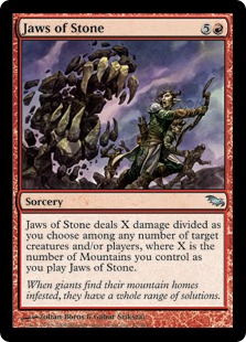 Jaws of Stone (foil)
