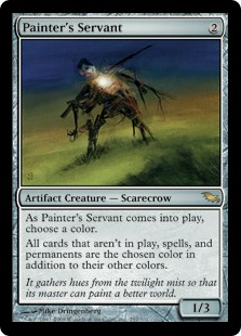 Painter's Servant