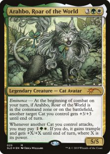 Arahbo, Roar of the World (foil)