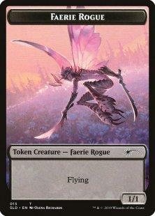Faerie Rogue token (Bitterblossom Dreams (1)) (1/1)