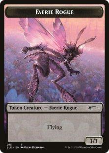 Faerie Rogue token (3) (1/1)
