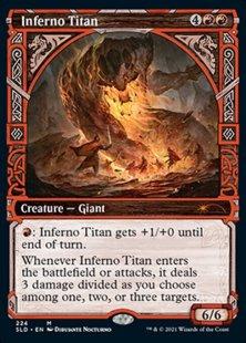 Inferno Titan (Showcase Kaldheim part 2) (showcase)