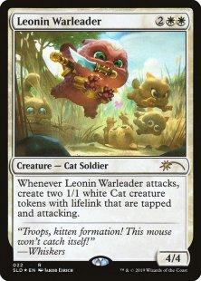 Leonin Warleader (foil)