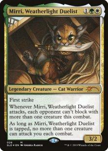 Mirri, Weatherlight Duelist (foil)