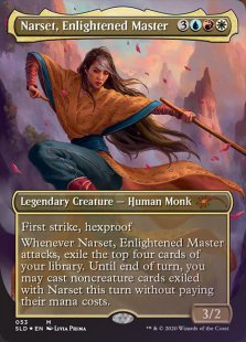 Narset, Enlightened Master (Women's Day 2020) (foil) (borderless)