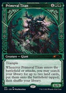 Primeval Titan (Showcase Kaldheim part 1) (showcase)