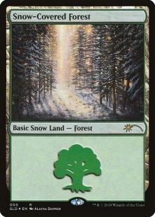 Snow-Covered Forest (foil)