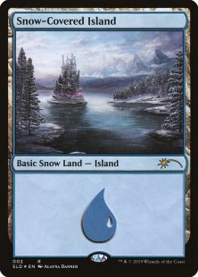 Snow-Covered Island (foil)