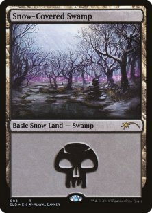 Snow-Covered Swamp (foil)