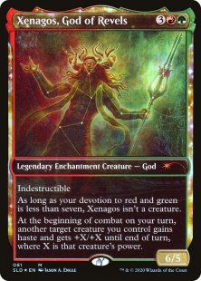 Xenagos, God of Revels (foil)