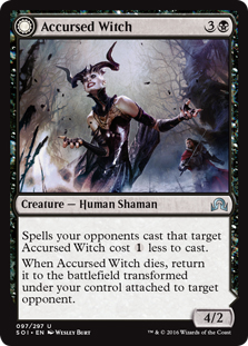 Accursed Witch (foil)