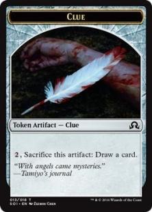 Clue token (3)