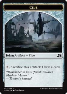 Clue token (4)