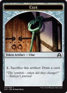 Clue token (5)