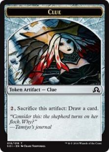 Clue token (6)