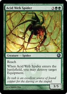 Acid Web Spider