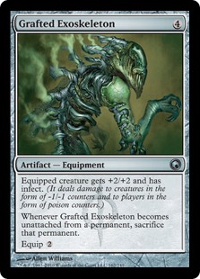 Grafted Exoskeleton
