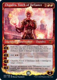 Chandra, Torch of Defiance (foil)