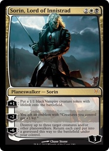 Sorin, Lord of Innistrad (foil)