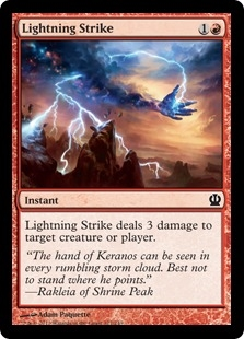 Lightning Strike (foil)