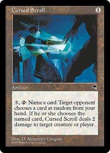 Cursed Scroll