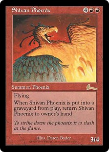 Shivan Phoenix (foil)
