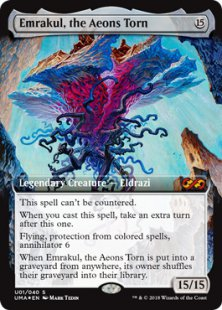 Emrakul, the Aeons Torn (foil)