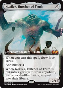 Kozilek, Butcher of Truth (foil)