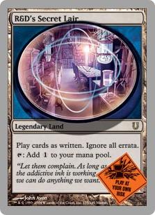 R&D's Secret Lair