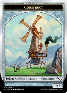 Construct token (foil) (*/*)