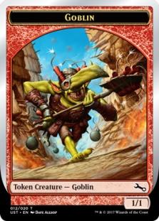 Goblin token (foil) (1/1)