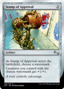 Stamp of Approval (foil)