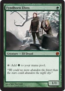 Fyndhorn Elves (foil)