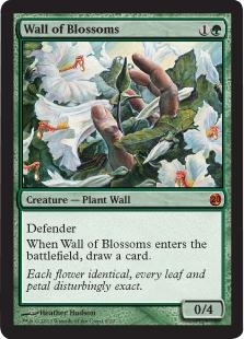 Wall of Blossoms (foil)