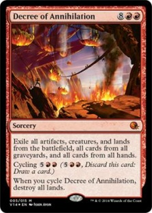 Decree of Annihilation (foil)