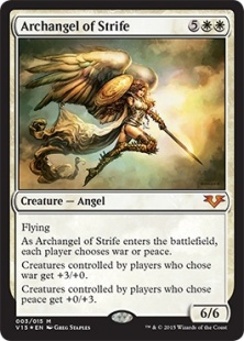 Archangel of Strife (foil)
