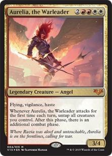 Aurelia, the Warleader (foil)