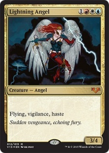 Lightning Angel (foil)