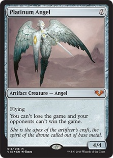 Platinum Angel (foil)