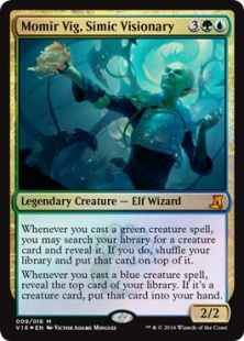 Momir Vig, Simic Visionary (foil)