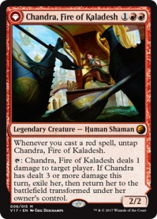 Chandra, Fire of Kaladesh (foil)
