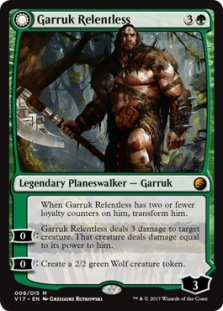 Garruk Relentless (foil)