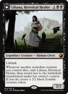 Liliana, Heretical Healer (foil)