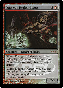 Duergar Hedge-Mage (foil)