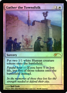 Gather the Townsfolk (foil)