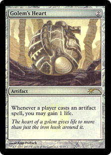 Golem's Heart (foil)