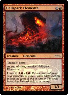 Hellspark Elemental (foil)