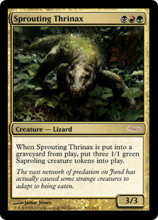 Sprouting Thrinax (foil)